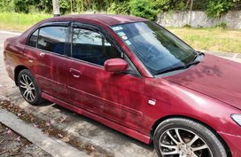 Selling Red Honda Civic 2004 in Las Piñas