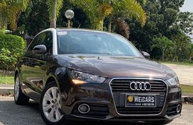 Brown Audi A1 2014 for sale in Quezon City