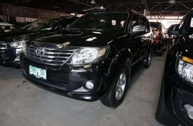 Black Toyota Fortuner 2011 for sale in Automatic