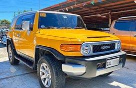 Yellow Toyota Fj Cruiser 2019 for sale in Mandaue