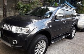 Sell Black 2011 Mitsubishi Montero sport in Quezon City