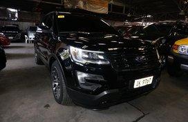 Black Ford Explorer 2016 for sale in Pasig