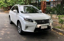 White Lexus Rx 350 2014 for sale in Cebu City