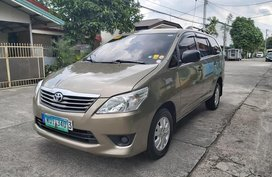 2013 Toyota Innova 2.5 E Manual