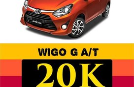 Toyota Wigo 2020 for sale in Taguig