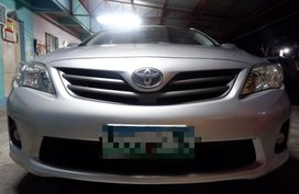 Silver Toyota Corolla Altis 2013 for sale in Quezon City
