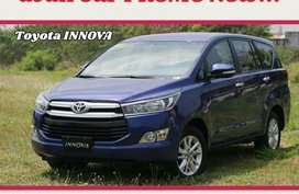 Sell 2020 Toyota Innova in Manila