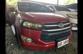 Sell Red 2017 Toyota Innova SUV / MPV at 21000 in Quezon City