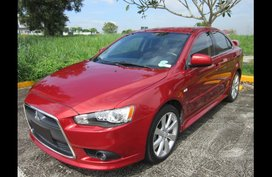 Sell Red 2014 Mitsubishi Lancer ex Sedan at  CVT  in  at 47000 in Silang