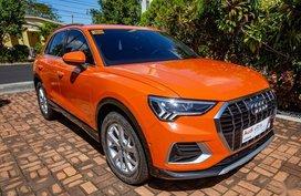 Orange Audi Q3 2020 for sale in Subic