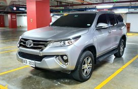 Silver Toyota Fortuner 2016 for sale in Parañaque