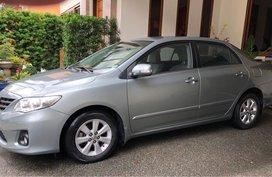 Silver Toyota Corolla altis 2013 for sale in Marikina