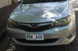 Brightsilver Subaru Impreza 2011 for sale in Automatic
