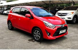 Sell Red 2018 Toyota Wigo in Manila