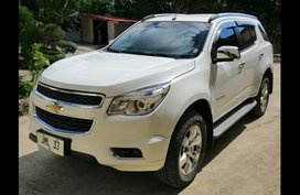 Sell White 2013 Chevrolet Trailblazer SUV / MPV at 50000 in Panglao