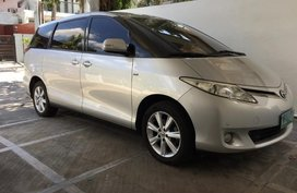 Silver Toyota Previa 2010 for sale in Automatic