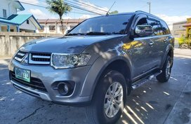 Grayblack Mitsubishi Montero sport 2014 for sale in Automatic