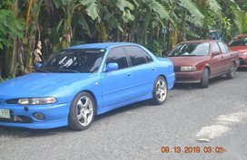 Blue Mitsubishi Galant 1995 for sale in Muntinlupa