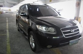 Selling Black Hyundai Santa Fe 2008 in Quezon City
