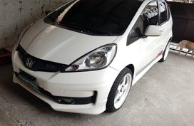 White Honda Jazz 2012 for sale in Quezon City