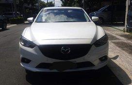 White Mazda 6 2015 for sale in Automatic