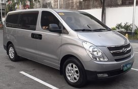 Selling Silver Hyundai Grand starex 2013 in Caloocan