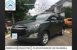 2017 Toyota Innova G DSL AT