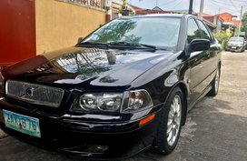 Black Volvo S40 2003 for sale in Automatic