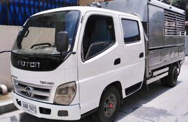 White Foton Tornado 2013 for sale in Manual