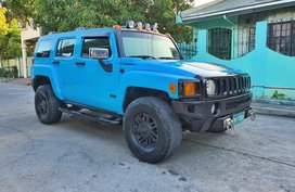 Blue Hummer H3 2006 for sale in Bacoor
