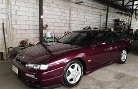 Purple Nissan Silvia 1997 for sale in Automatic