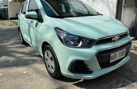Blue Chevrolet Spark 2018 for sale in Taguig