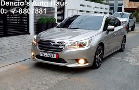 Silver Subaru Legacy 2016 for sale in Automatic