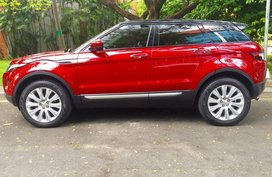 Red Land Rover Range Rover Evoque 2016 for sale in Automatic