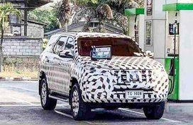Toyota Fortuner 2020 facelift: SPOTTED