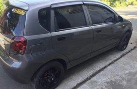 Grey Chevrolet Aveo 2008 for sale in Manila