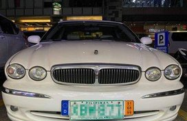 White Jaguar X-Type 2002 for sale in Pasig