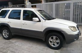 Sell White 2008 Mazda Tribute at 74000 km