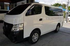 Selling White Nissan Nv350 Urvan 2018 Manual Diesel
