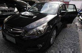 Selling Black Subaru Legacy 2012 Automatic Gasoline