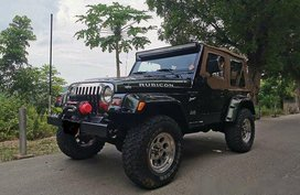 Green Jeep Wrangler 2003 Automatic for sale