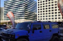 Sell Blue 2006 Hummer H2 at 30000 km