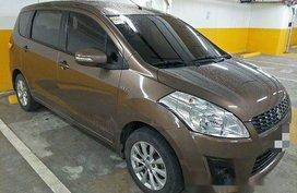 Selling Brown Suzuki Ertiga 2015 in Quezon City