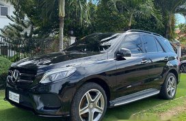 Black Mercedes-Benz GLE 2016 for sale in Panglao