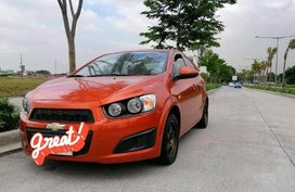 Selling Orange Chevrolet Sonic 2014 in Taguig