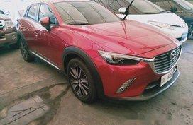 Red Mazda Cx-3 2017 for sale in Makati