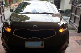 Sell Brown 2014 Kia Carens at 49000 km