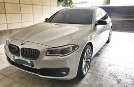 Selling Silver Bmw 520D 2017 Automatic Diesel