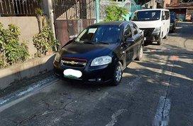 Sell Black 2007 Chevrolet Aveo at 31000 km