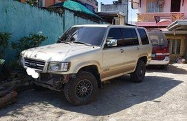 Silver Isuzu Trooper 1999 Automatic Gasoline for sale